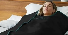 Infrarød lys behandling med tæppe hos Klinik Ringsing på Lolland Falster