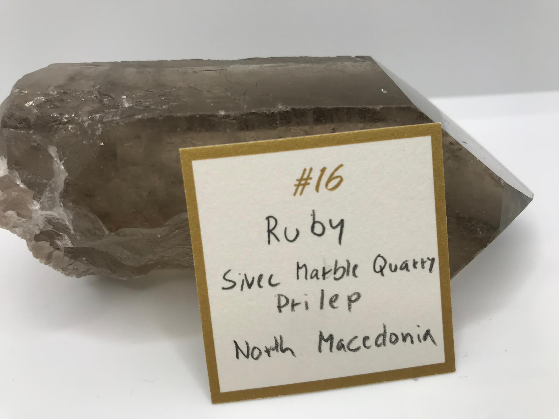 Ruby Crystal  Ring ( origin)