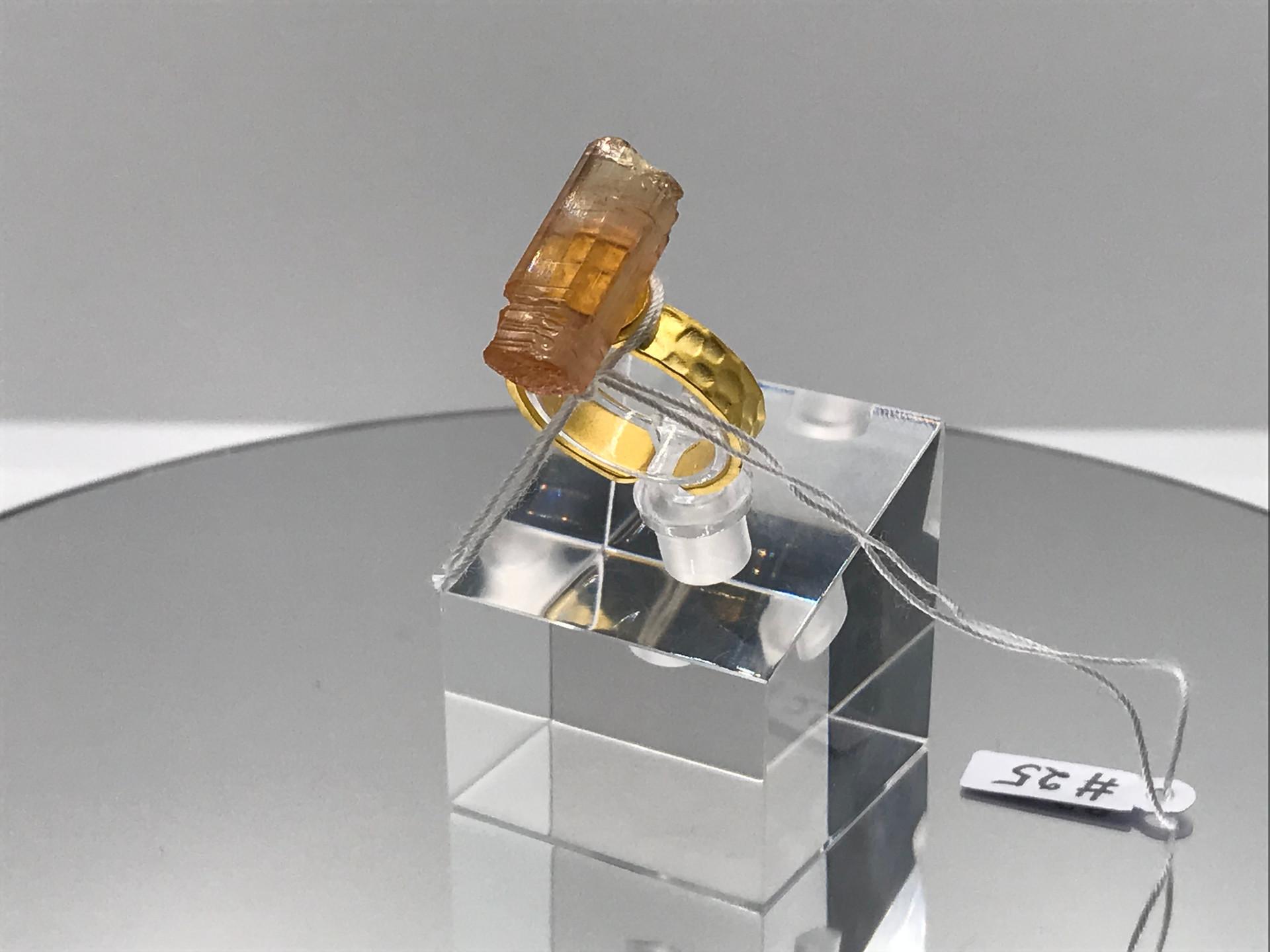 Beryl Crystal Ring