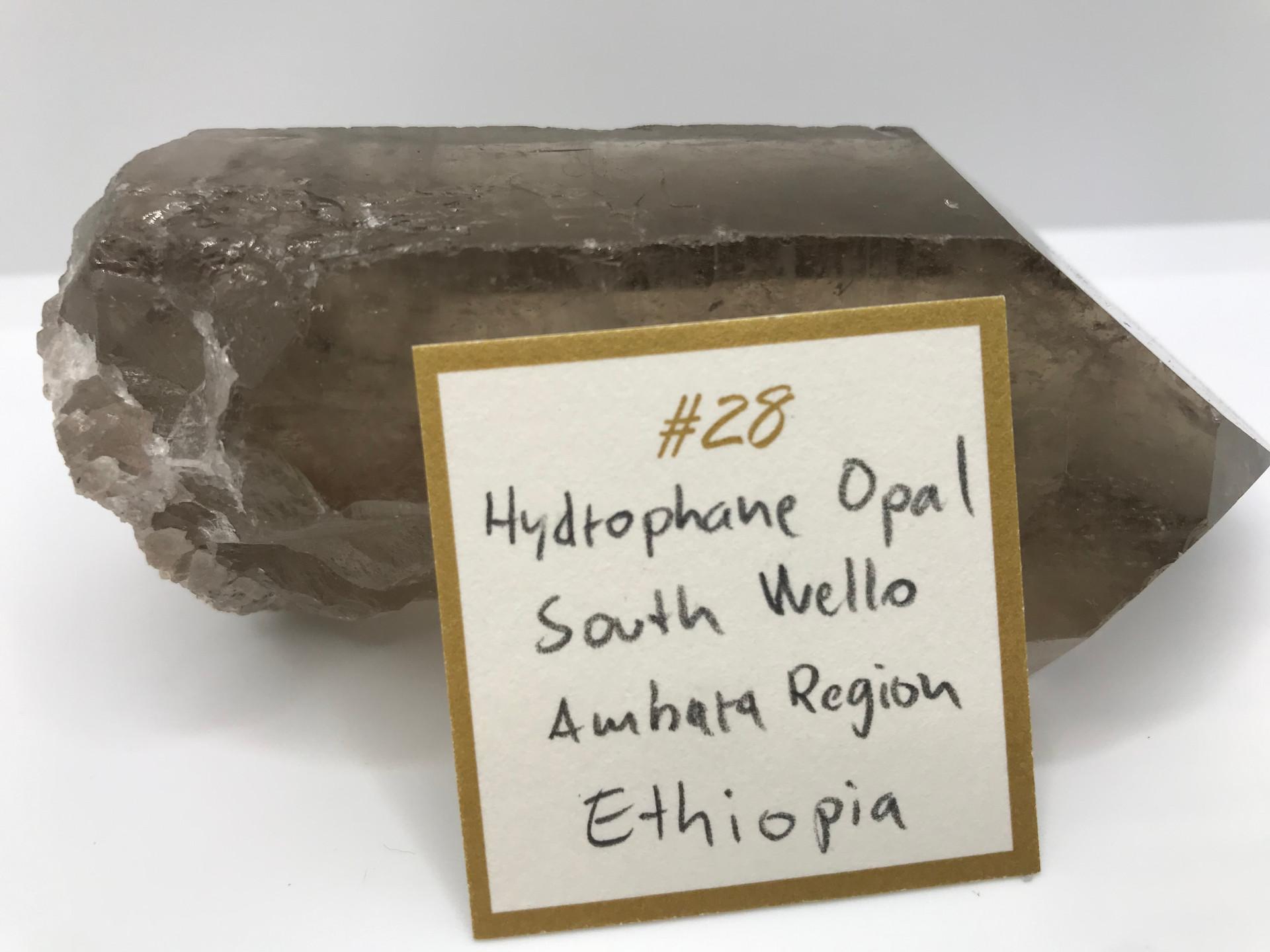 Hydrophane Opal Crystal Ring (origin)