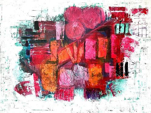 "2x""Ever-Unfolding Rose"" Postcard A5 (148×210)"
