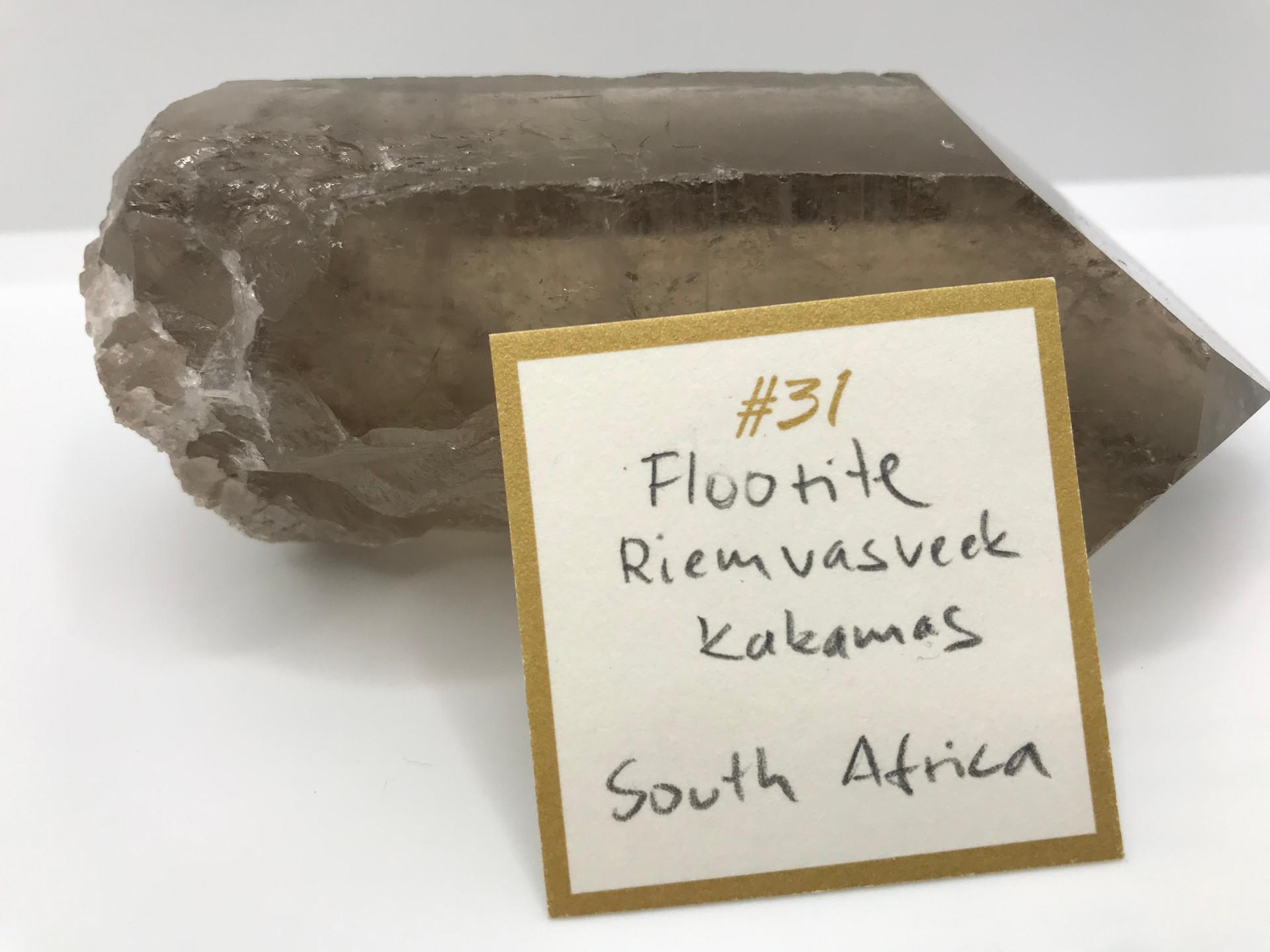 Fluorite Crystal Ring (origin)