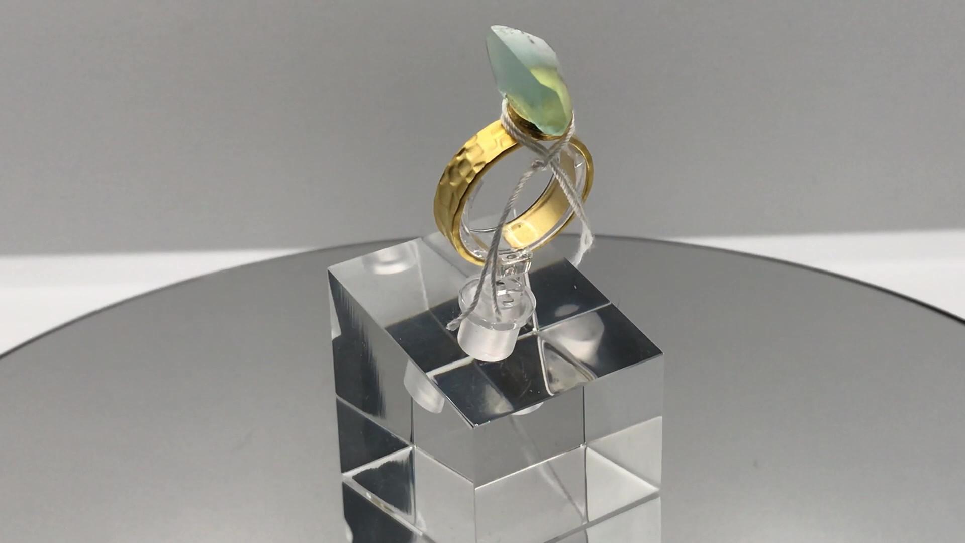Fluorite Crystal Ring (mov)