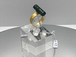 Indicolite Crystal Ring !SOLD!