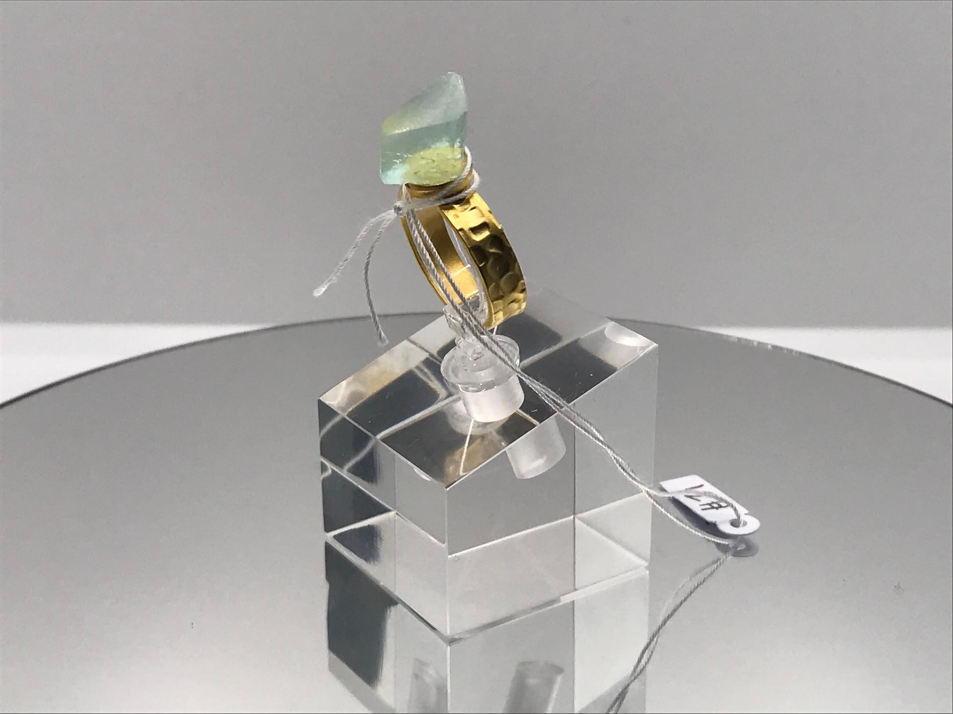 Fluorite Crystal Ring