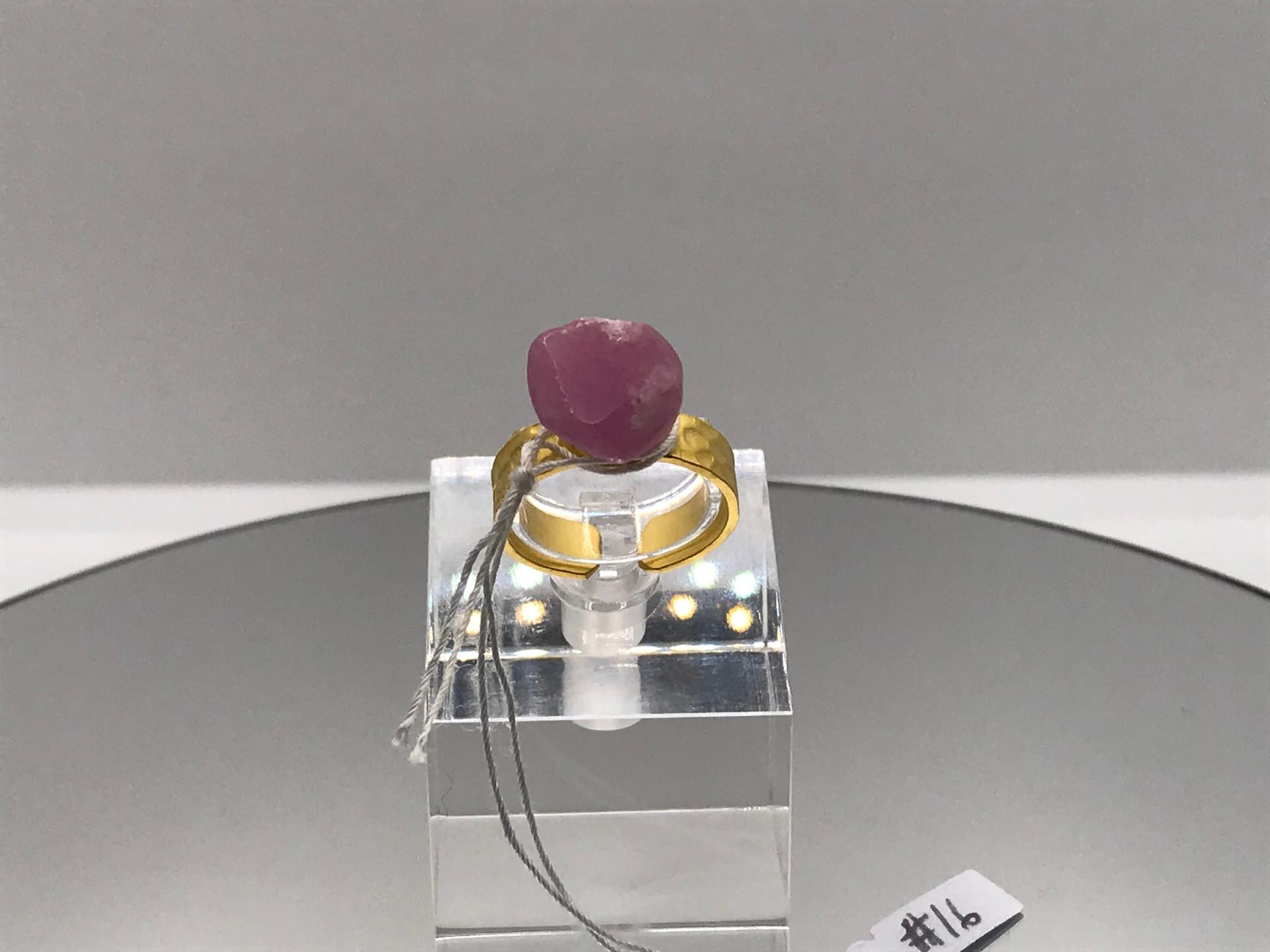 Ruby Crystal Ring