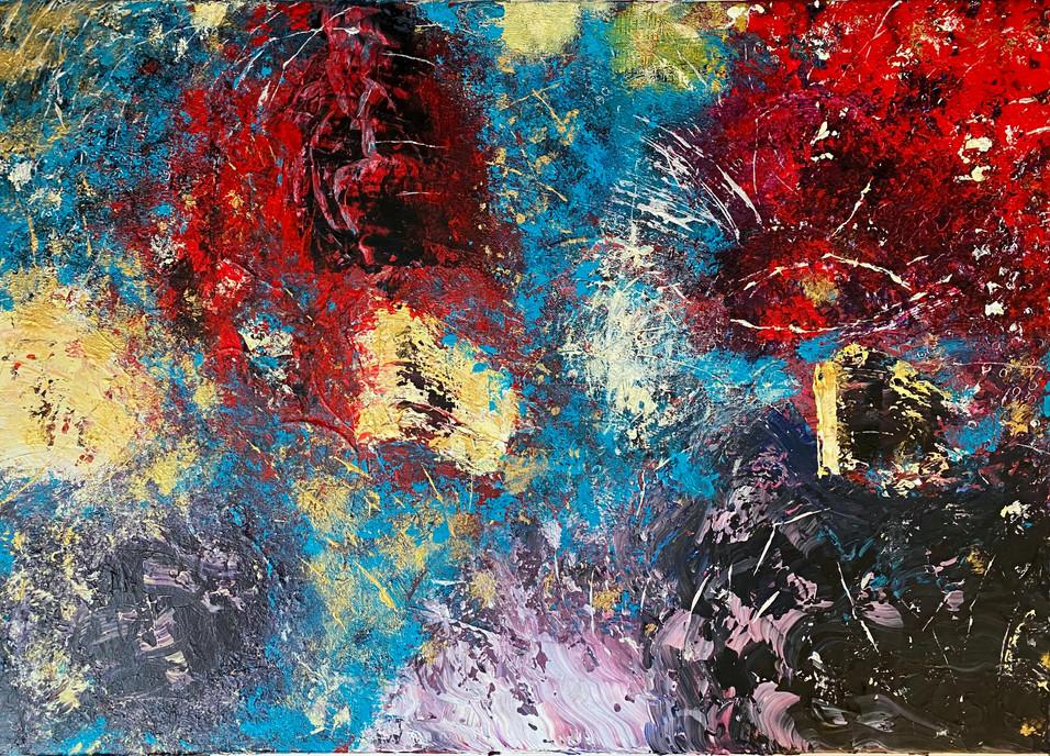 """""""I Sea You"""" Original painting 50x70 369€"""