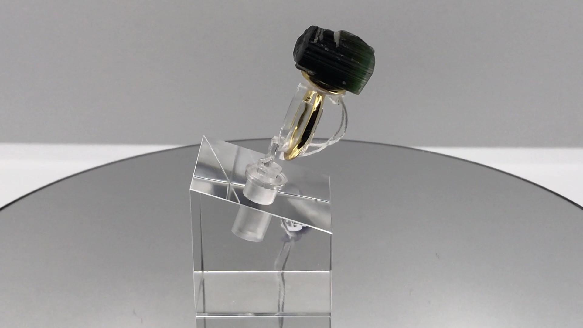 Elbaite Crystal Ring (mov)