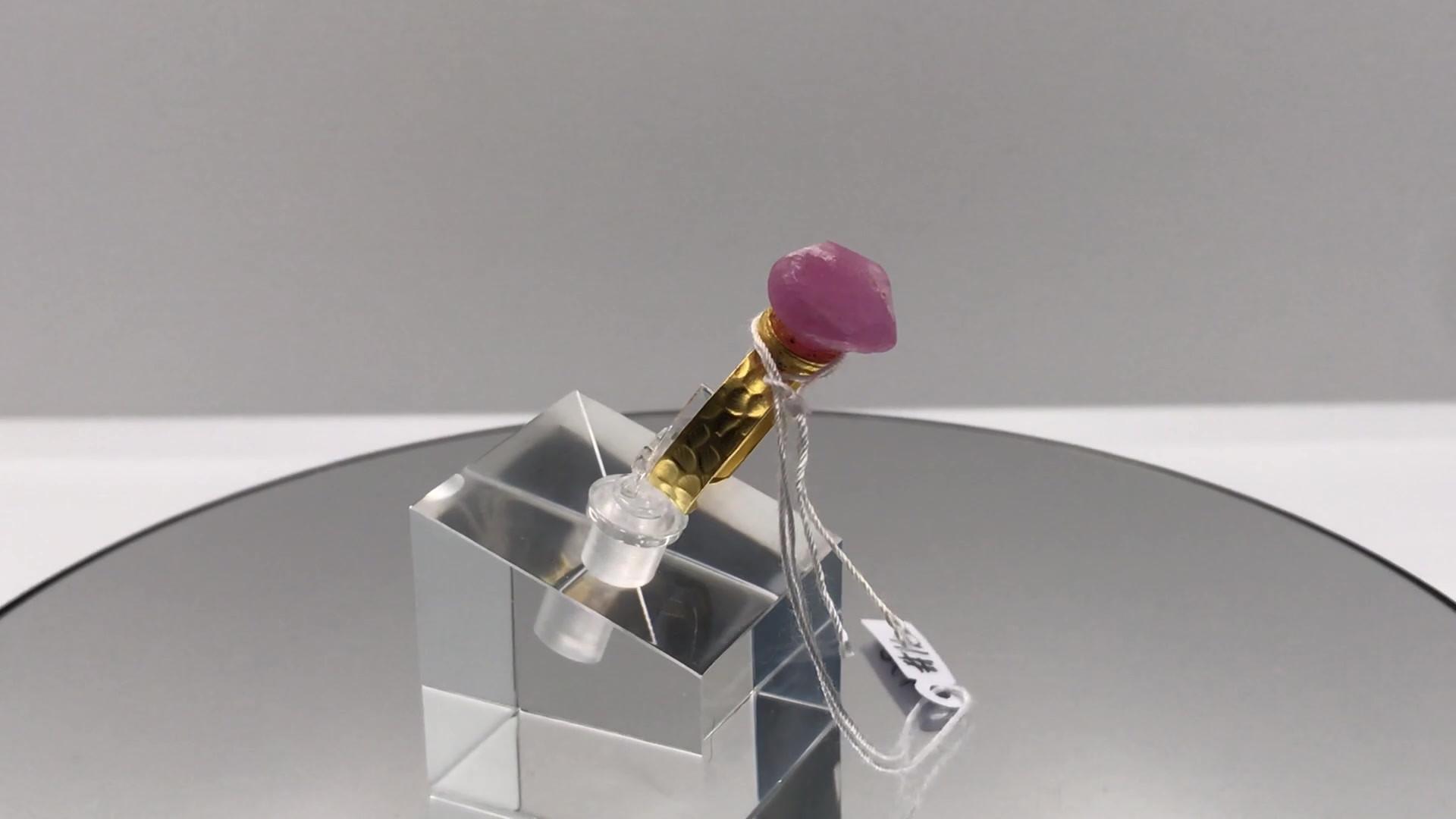 Ruby Crystal Ring (mov)