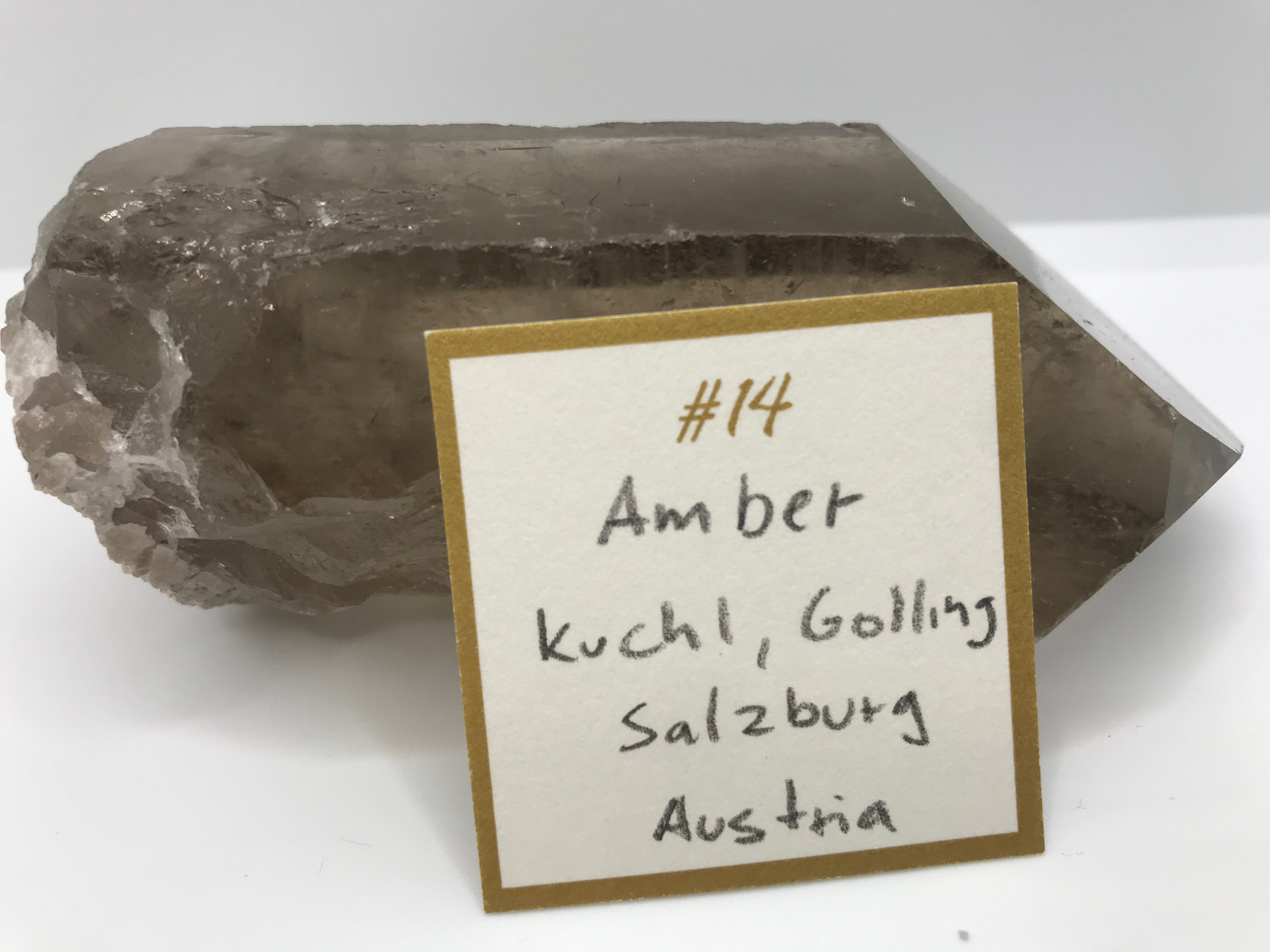 Amber Crystal Ring (origin)