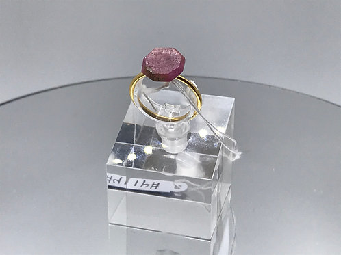 Apatite Crystal Ring