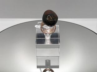 Amber Crystal Ring 55€