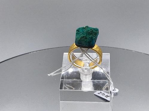 Atacamite Crystal Ring