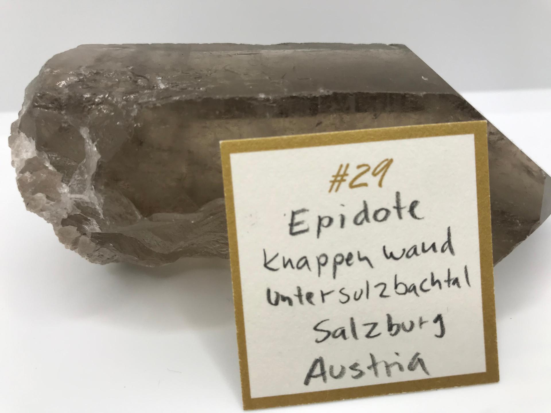 Epidote Crystal Ring (origin)
