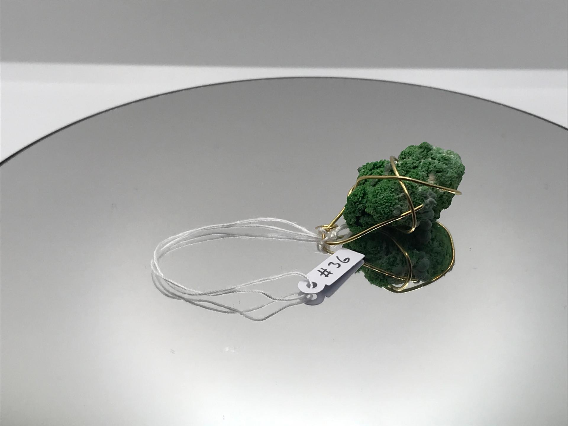 Conichalcite & Olivenite Crystal  Pendan