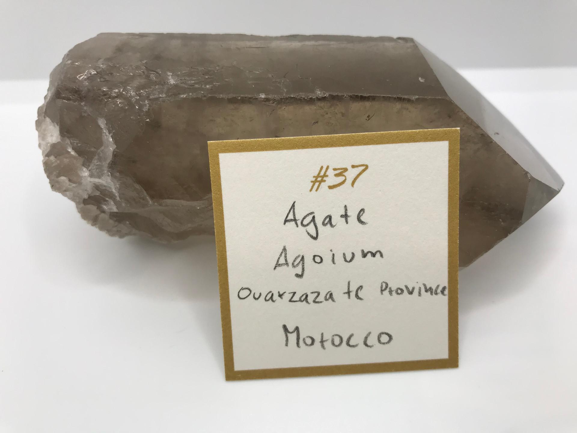 Agate Crystal Pendant (origin)