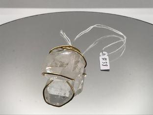 Faden Quartz Crystal Pendant !SOLD!