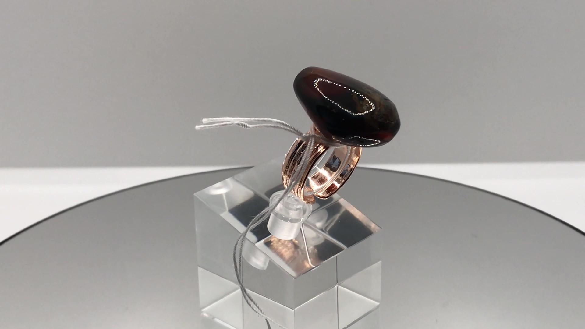 Amber Crystal Ring (mov)