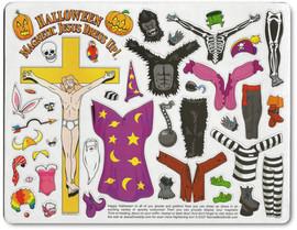 Halloween Jesus Dressup!