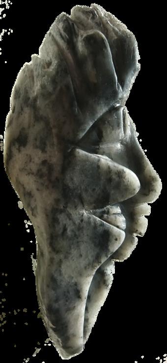 Colette (sculpture stéatite)