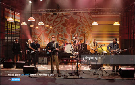 The Tonight Show with Jay Leno: Backup Vox for Lord Huron