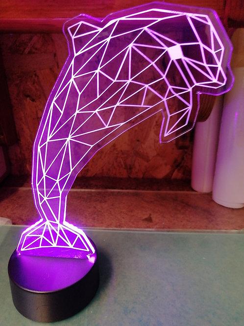 Dauphin Lampe Veilleuse