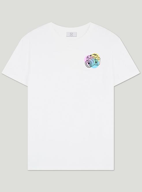 T-shirt Appareil Photo Petit