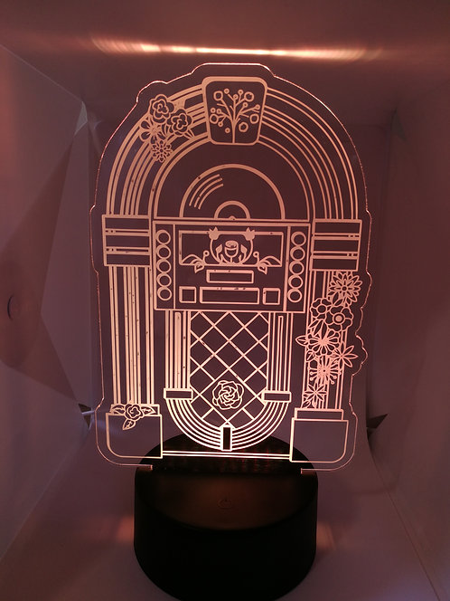Jukebox Lampe Veilleuse