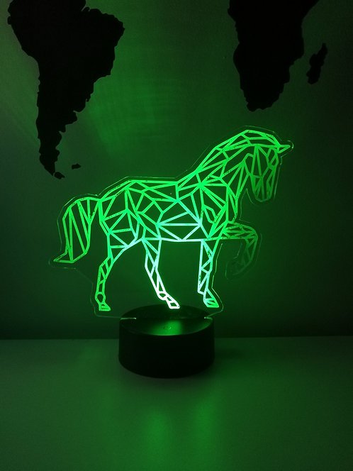 Cheval Lampe Veilleuse