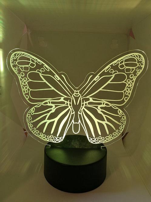Papillon Lampe Veilleuse