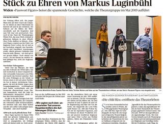 Ein Stück zu Ehren von Markus Luginbühl