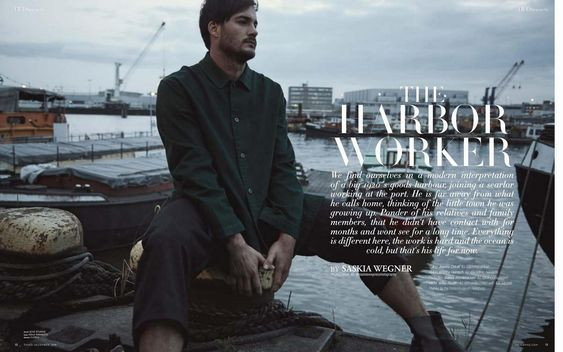 """Cover Story """"The Harbor Worker"""""""