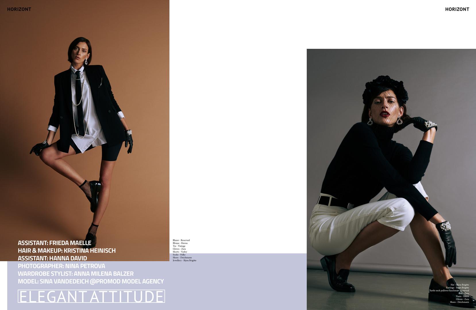 Elegant Attitude - Horizont Magazine