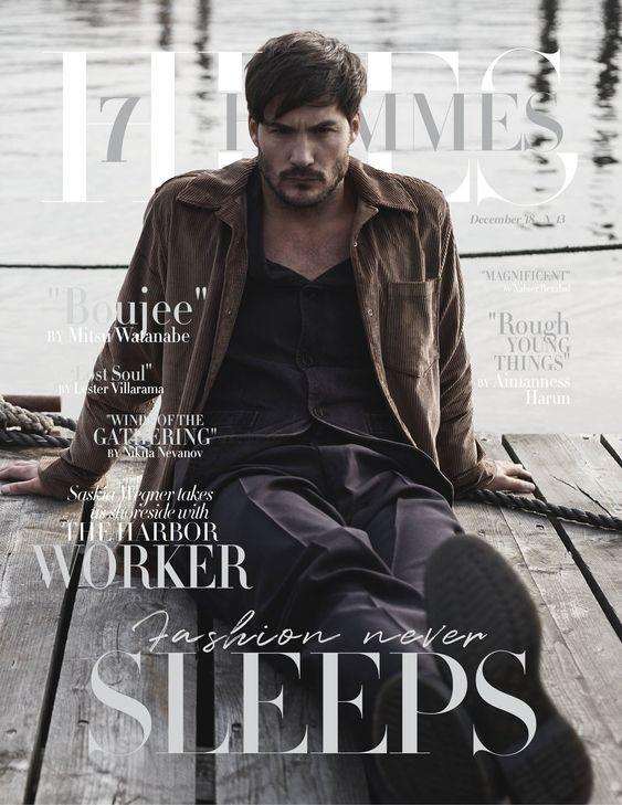 Cover 7Hues Hommes Magazin N`13