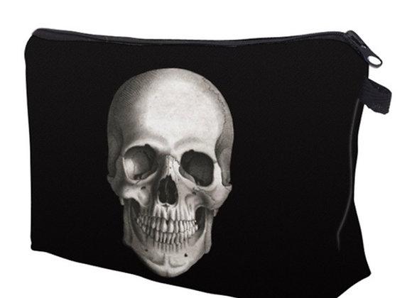 Makeup bag Skull print