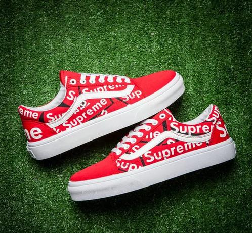 Vans X Supreme