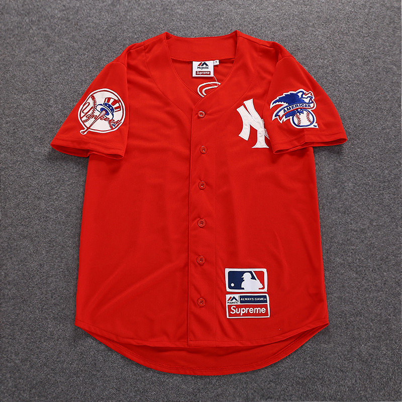huge discount 764be a33db Yankees x Supreme Jersey