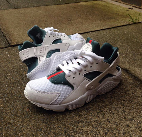 White Huaraches Gucci Customs