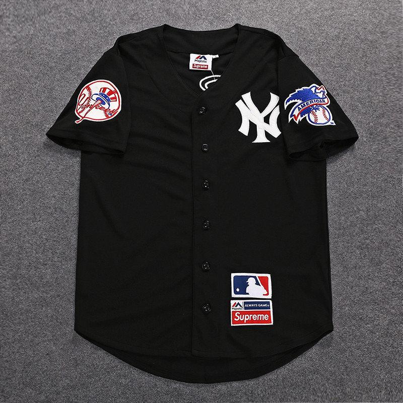 huge discount ba285 dd0df Yankees x Supreme Jersey