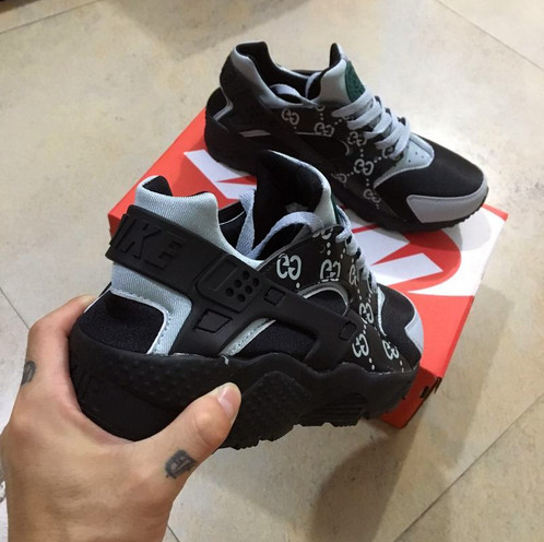 Mint Gucci Custom Huaraches