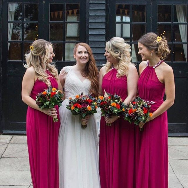 Ellie and her Maids ❤️ #bride #bridesmai