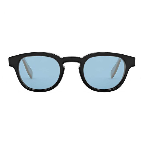 Bauhaus Black | Blue Lens.