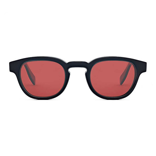 Bauhaus Black | Red Lens.