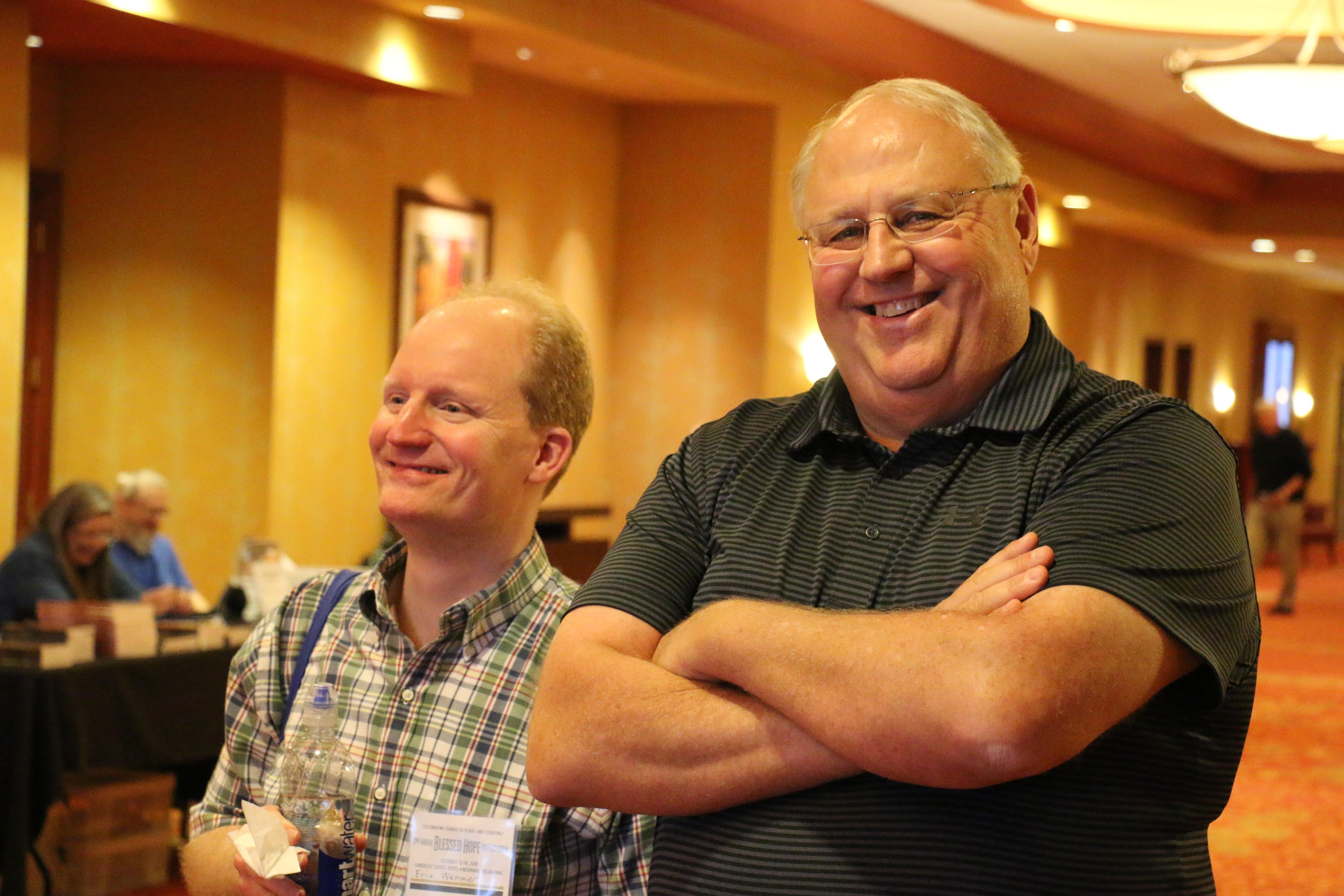 Eric and John
