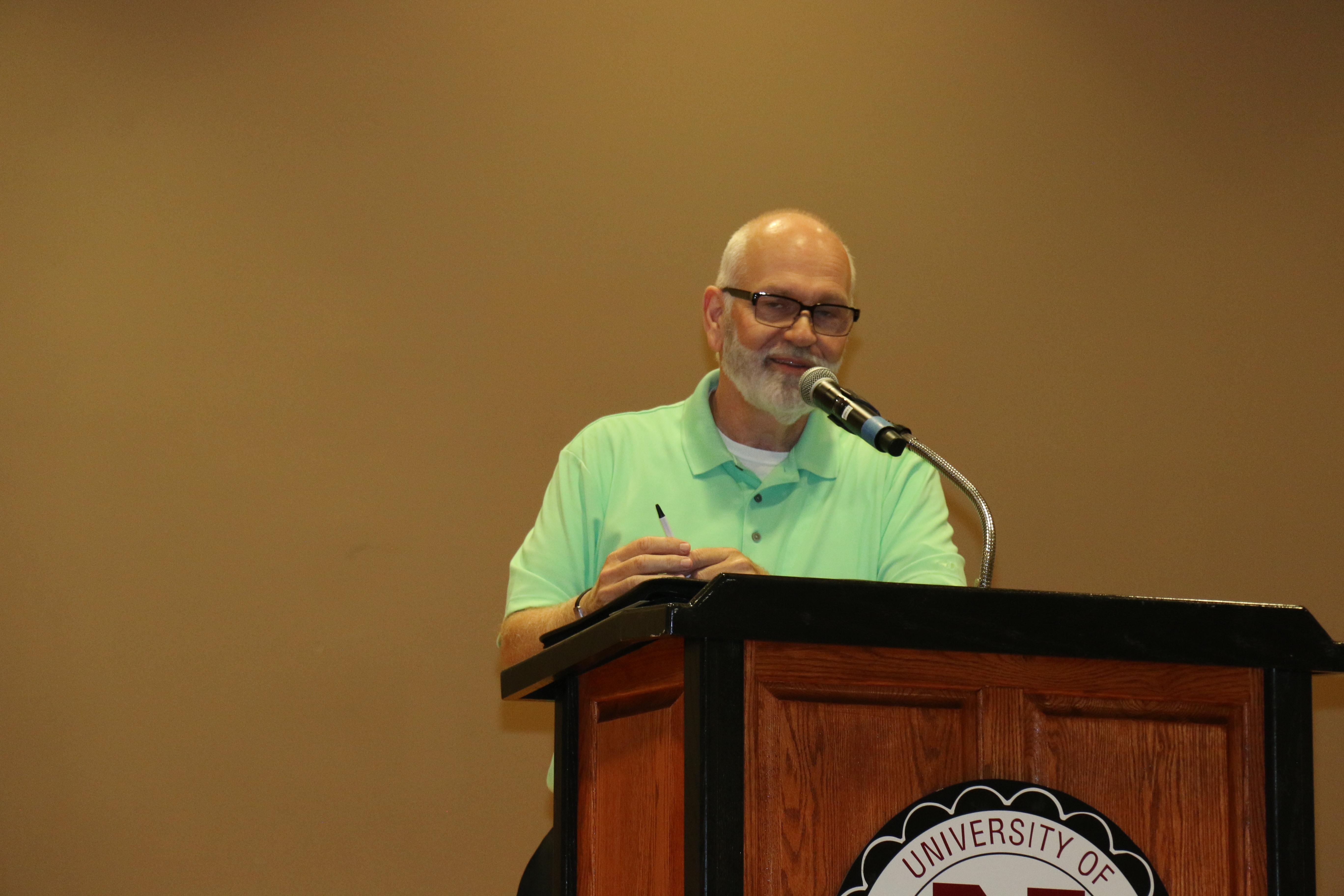 Pastor Mike Spaulding