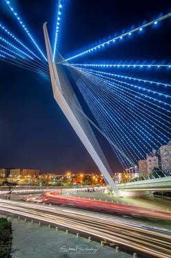Chords Bridge, Jerusalem Israel
