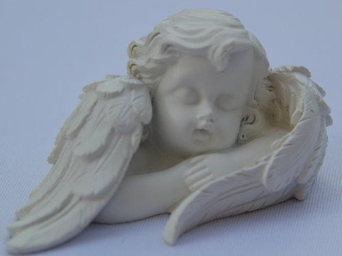 Buste d'Ange endormi