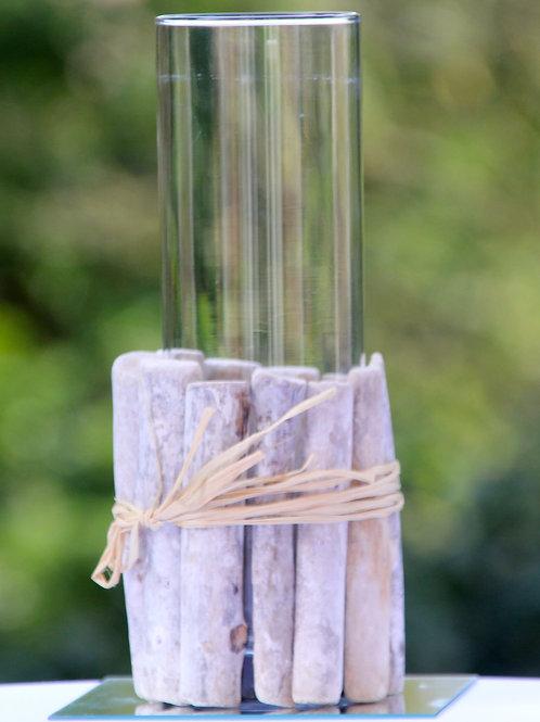 Vase en bois flotté