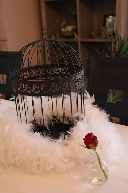 Urne cage d'oiseau