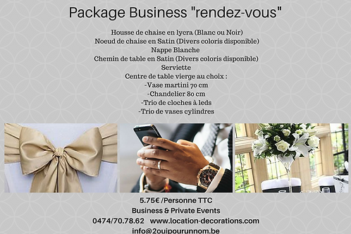 "package ""rendez-vous business"""